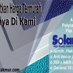 Harga Atap Polycarbonate Solarflat Terbaru Termurah 2019