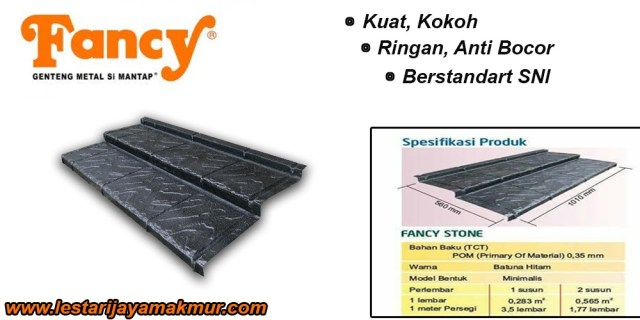 Harga Genteng Metal Fancy