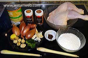 Kumpulan Resep Asli Indonesia  Opor Ayam Kutai