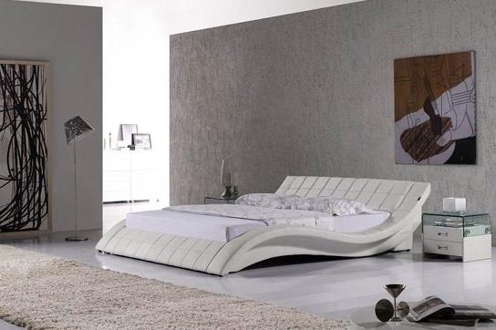 lit haut de gamme blanc kanjy 140