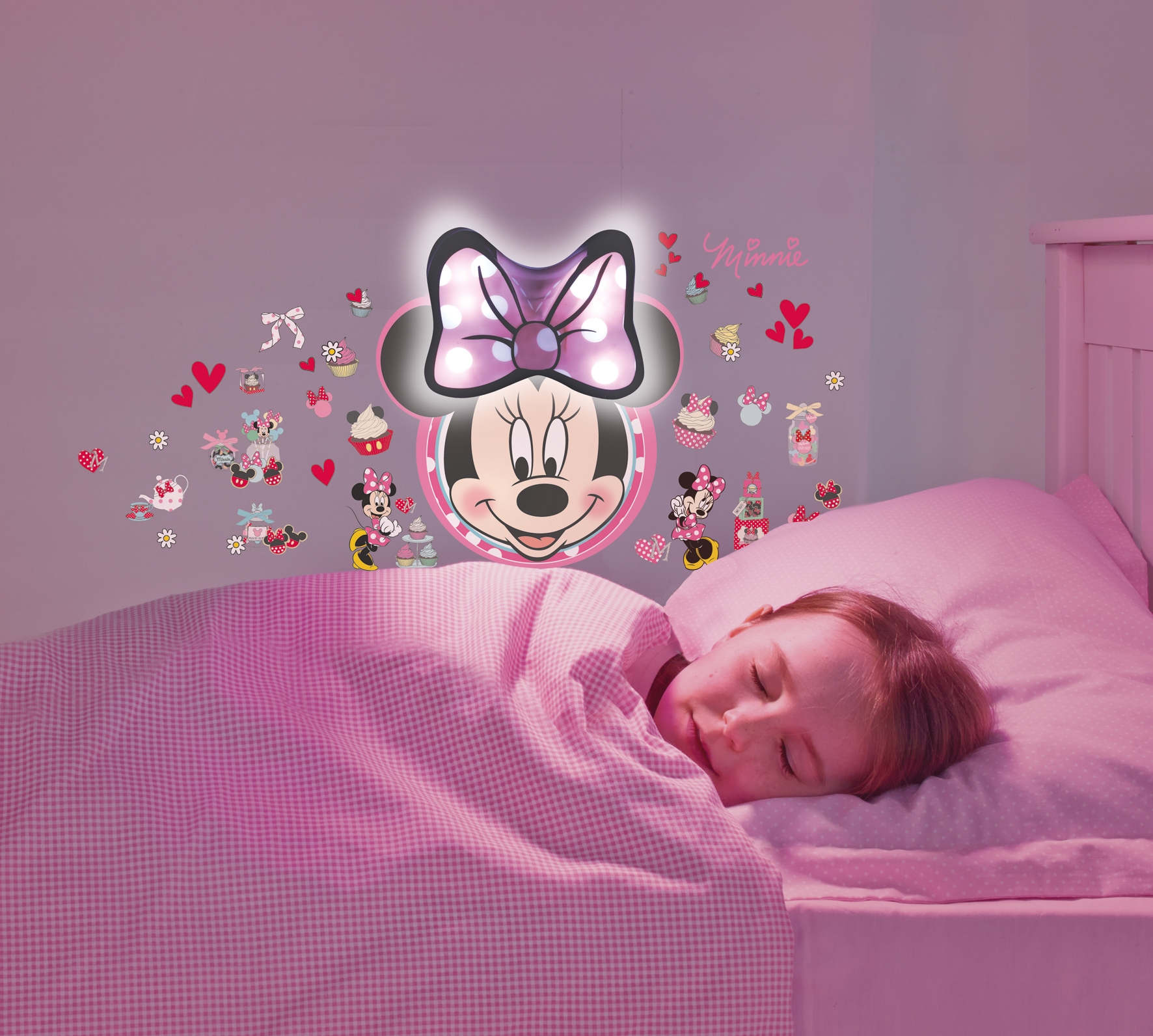 Stickers lumineux Minnie Mouse  LesTendancesfr