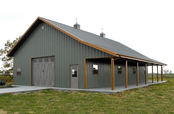 Missouri Pole Barns Pole Barn Builders Lester Buildings