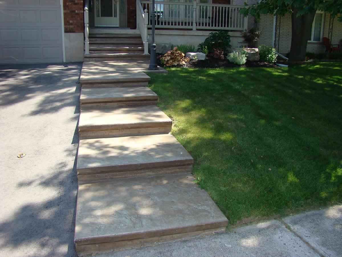 Stamped Concrete Patios Sidewalks and Driveways  Lester Contracting