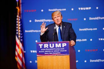 Trump (foto di Michael Vadon)