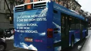 Bus atei a Genova