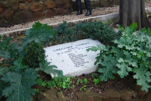 Lapide di Gregory Corso