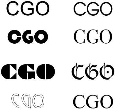 C - G - O