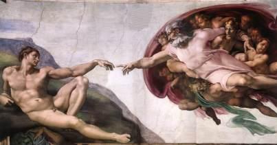 Michelangelo - Creazione dell'uomo