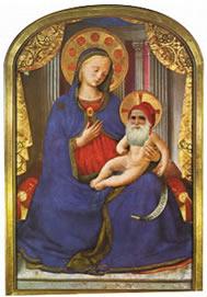 Babbo Natale e Gesù adulto