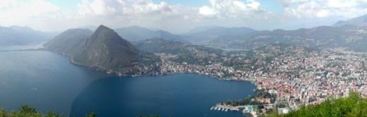 Panorama Lago di Lugano