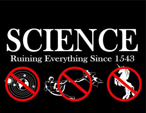 Scienza, rovina tutto dal 1543 (di SMBC)