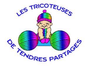 Logo association les tricoteuses de tendres partages Narbonne