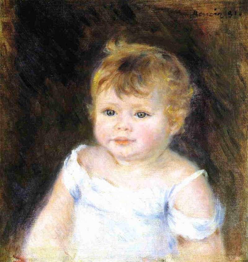 portrait-of-an-infant-1881 renoir