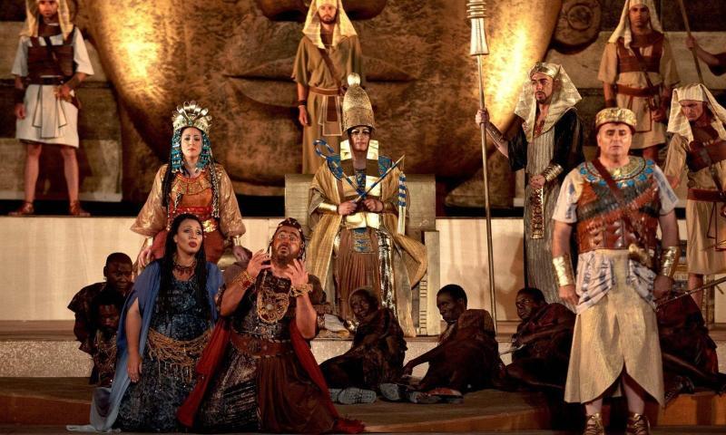 """""""Aida in scena"""" di Domenick Giliberto"""