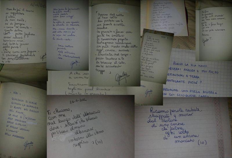 collage poesie giulia tamburini su l'estroverso