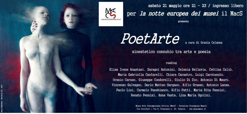 PoetArte a cura di Grazia Calanna al MacS 2016