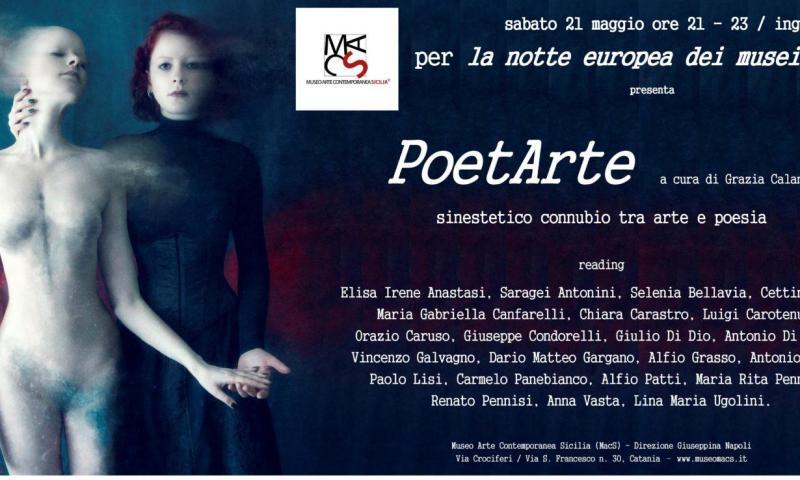 Al MacS, PoetArte a cura di Grazia Calanna