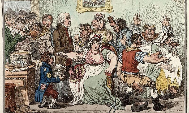 L'arte del vaccino: tra storia e satira.