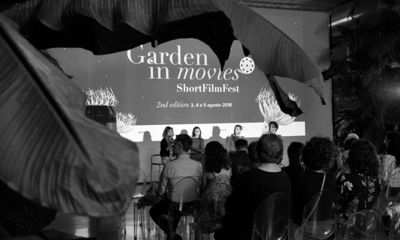 "Garden in Movies 2018: miglior corto ""A whisper under the Earth"" di Alcalà. Il pubblico premia ""Our Horizon"" di Szynaka e Conero."