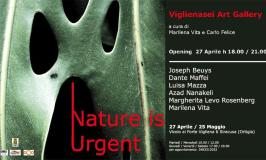 """""""Nature is Urgent"""" a cura di Marilena Vita e Carlo Felice"""