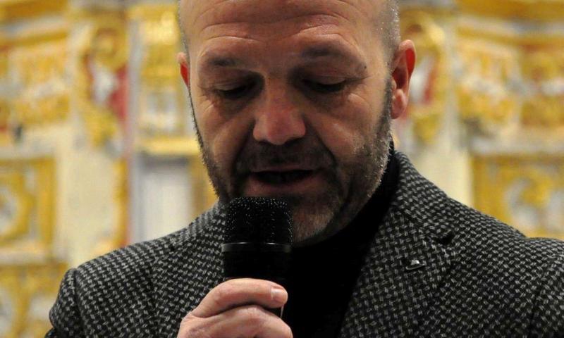 """Sergio D'Angelo, """"la poesia è come un viaggio di solo andata""""."""