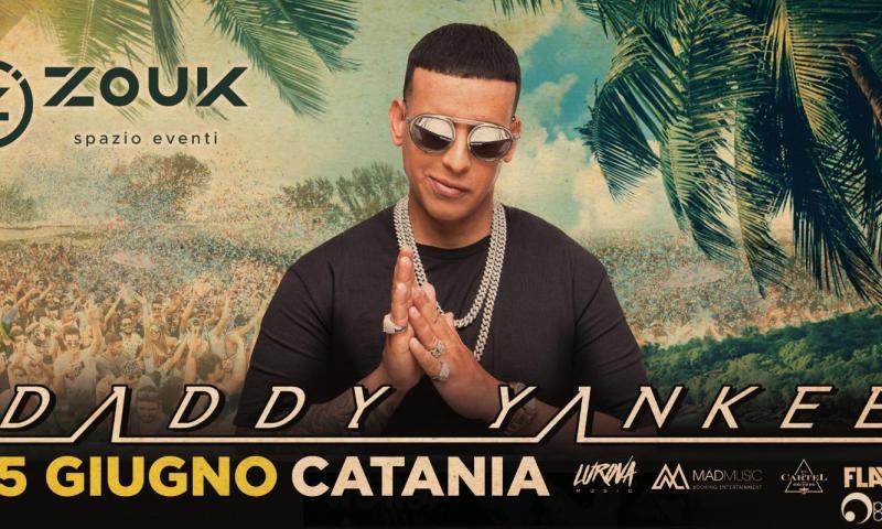 Domani a Catania il Re mondiale del reggaeton Daddy Yankee