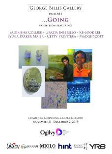 """Alla George Billis Gallery di New York """"…Going"""" di Woods con Collier, Inserillo, Lee, Parker Maier, Previtera e Scott"""