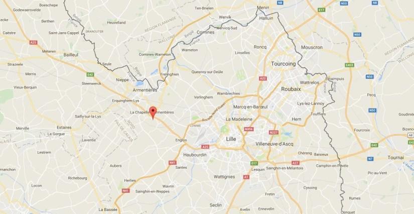 Google maps Les Voituriers