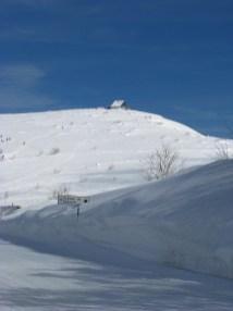 Sommet du Hohneck sous la neige