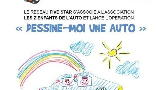 Les carrossiers Five Star soutiennent les Z'enfants!