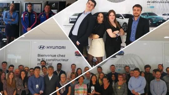 Hyundai marche pour Les Z'enfants de l'Auto