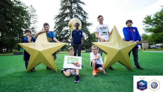 Volkswagen allume deux étoiles dans les yeux des Z'enfants