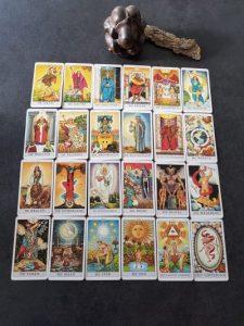 Grote Arcana tarotkaarten