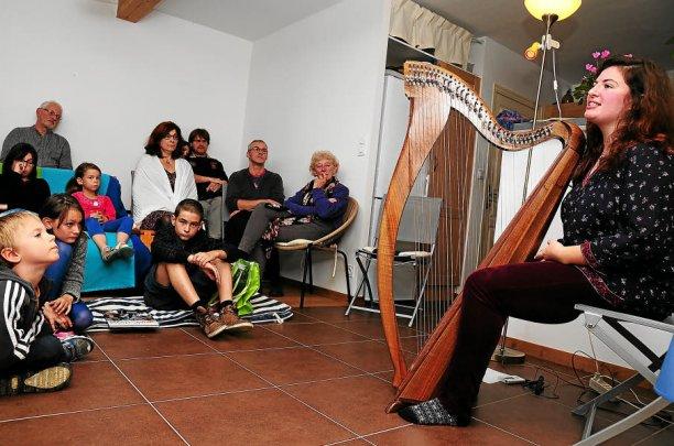 Lise Martin-Le Chêne a enchanté le public du cabaret de Hoari, accueilli mardi...