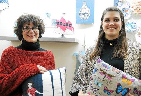 Perrine Victor-Pujebet (à gauche) et Cécilia Beauclair ont ouvert leur boutique, au 26, rue Brémond-d'Ars.