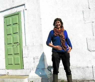 Anne Da Silva ouvrira son atelier et fera découvrir son travail mardi sur l'Île Wrac'h.