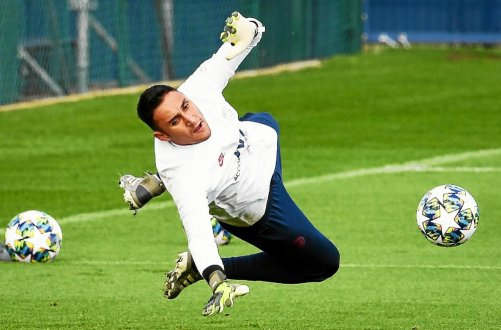 Keylor Navas will be away for at least ten days.