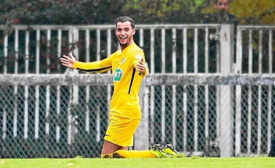Ahmed Fekir and Plabennec are happy: they will play Granville in Kervéguen.