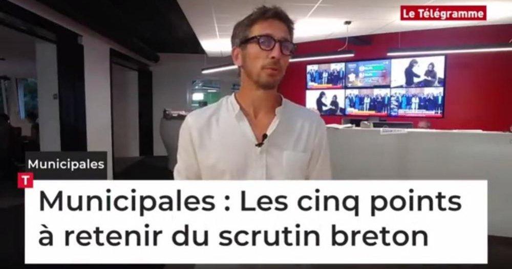 Municipales 2020 En Bretagne Les Cinq Points à Retenir