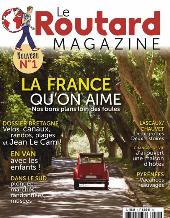 Le premier numéro du Routard Magazine consacré à la Bretagne