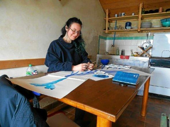 Candice Quedec est passionné par le monde marin et sous-marin.