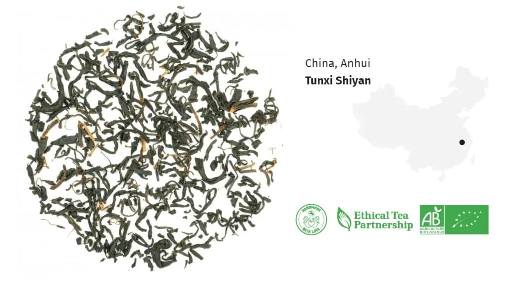 Thé Noir Bio Thé Keemun Miel de Chine