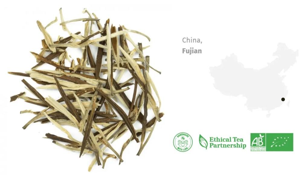 Thé Blanc Bio Thé blanc de Chine Faya 1er Grade