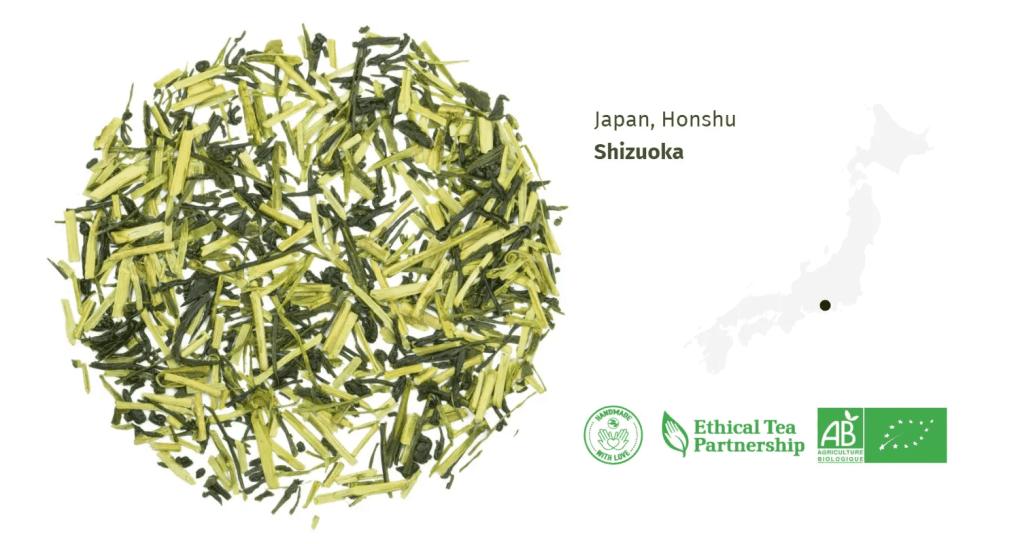 Thé Vert Bio Thé Kukicha Kaede du Japon