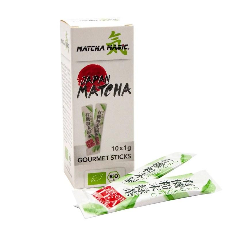 Thé Matcha en sticks - Stick de Matcha - Le Temps du Thé