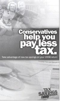 Conservative tax propaganda