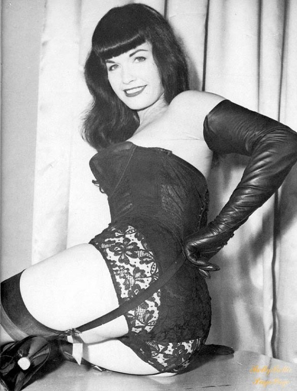 Betty Page. Source : Pinterest