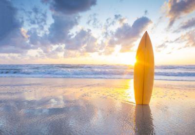 Příští destinace: pláž, oceán a surfing