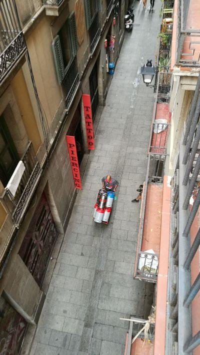Bydlení v historické části města není jen tak – Erasmus v Barceloně: 7. díl