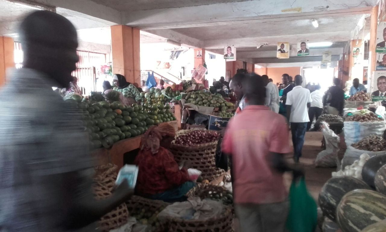 Ugandská tržnice
